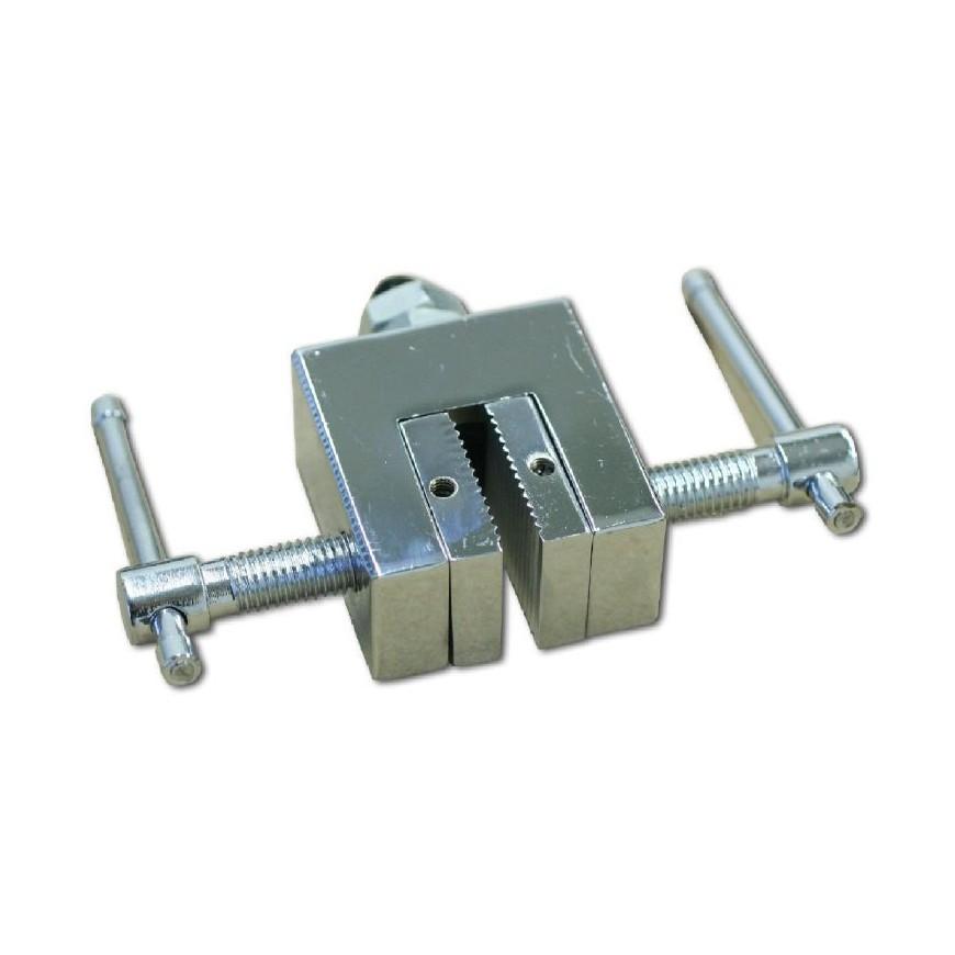 SAUTER AC 12 Empuñadura de mordazas paralelas para ensayos de tensión y fractura hasta 5 kN