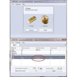 KERN TD GOLD 40. Gold tester