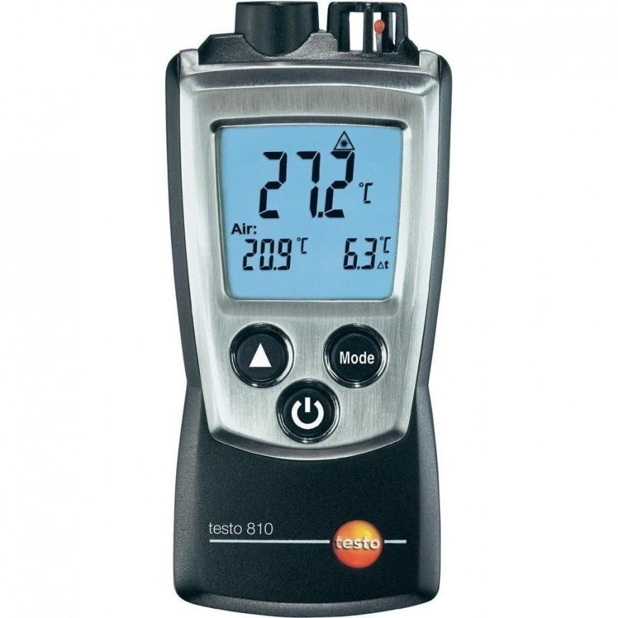 testo 810 - Instrumento de medición de temperatura de bolsillo