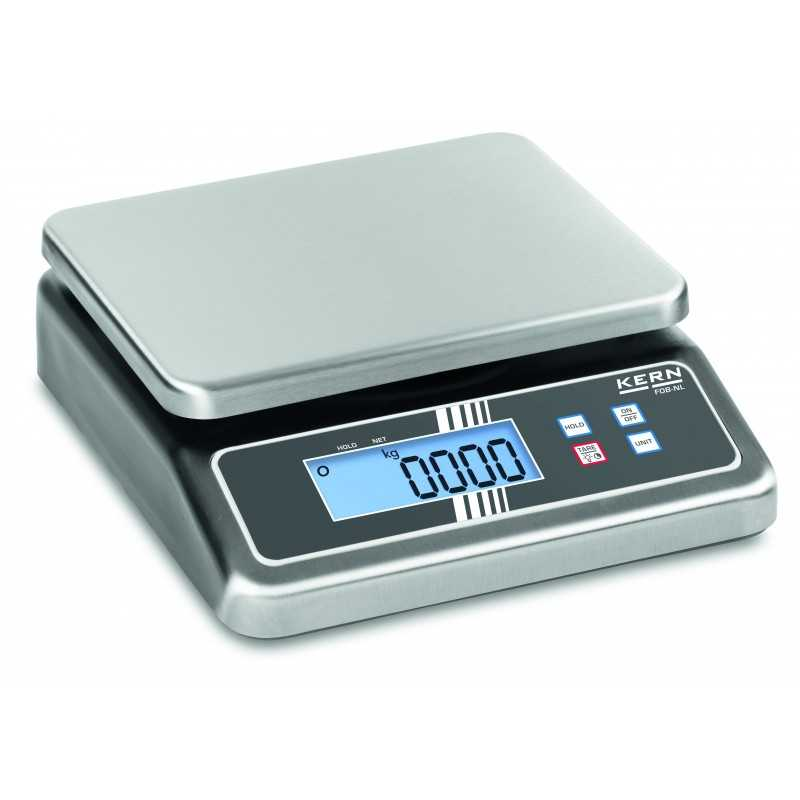 KERN FOB 30K-3NL Stainless steel bench scale