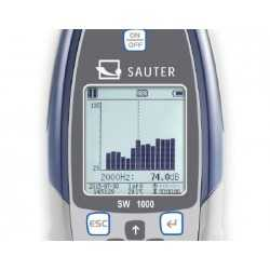 Sonómetro SAUTER SW