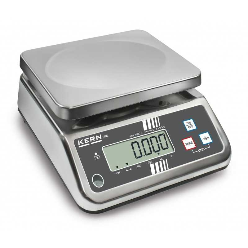 Stainless steel control scale KERN FFN