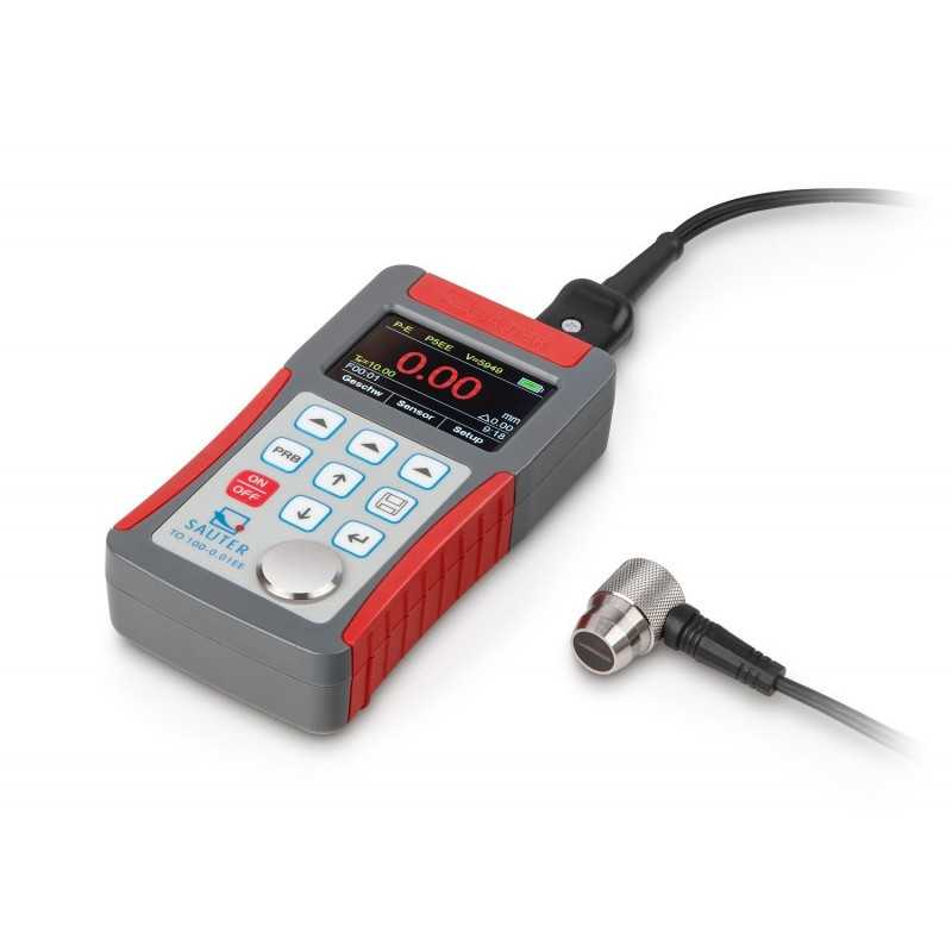 Ultrasonic thickness gauge SAUTER TO 100-0.01EE