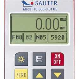 Medidor de espesor ultrasónico SAUTER TU 300-0.01US