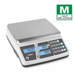 Retail scale KERN RPB 15K2DM with memories