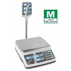 Retail scale KERN RPB 15K2DHM with elevated display