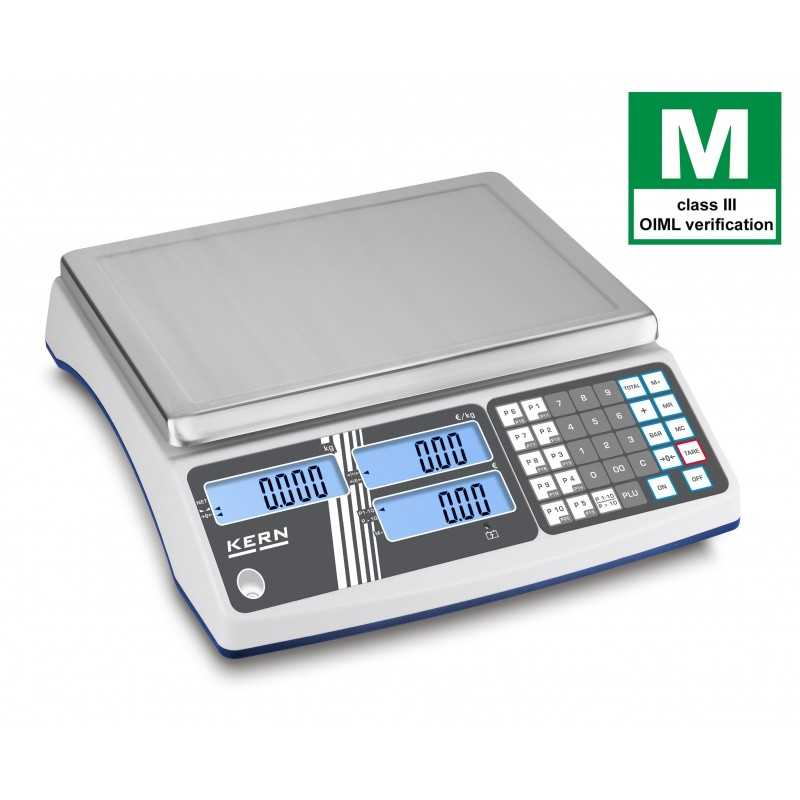 Retail scale KERN RIB legal for trade