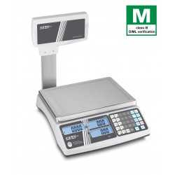 Retail scale KERN RIB 10K-3HM elevated display