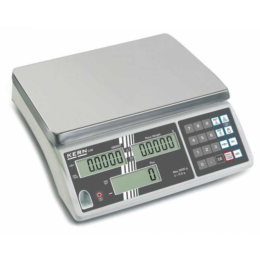 Báscula contadora KERN CXB 15K1