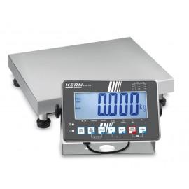 Bilancia a piattaforma in acciaio inossidabile KERN SXS 30K-2M