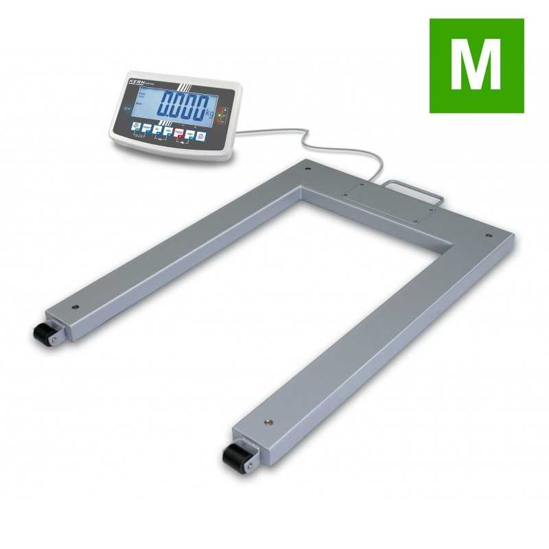 Pallet scale KERN UFB 600 with steel load support IP67