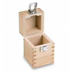 Wooden box for calibration weights