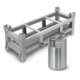 Poids du conteneur classe OIML M1 total max 250 kg