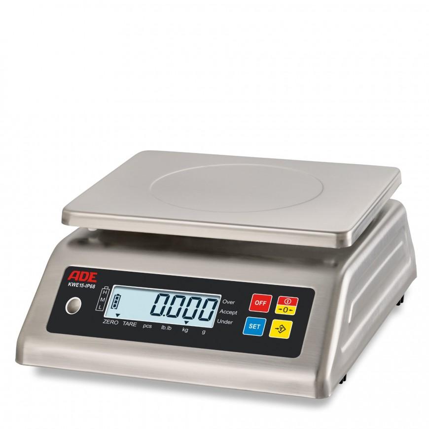 Bilancia compatta in acciaio inox ADE KWE15-IP65