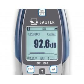 Sonometro profesionale SAUTER SW 1000
