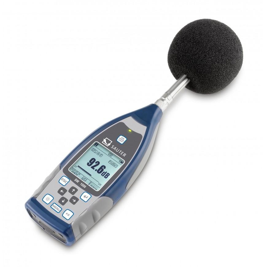Sonomètre professionnel SAUTER SW 1000