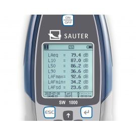 Sonometro profesional SAUTER SW 1000