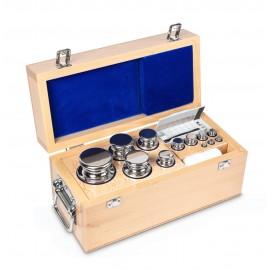 Set of calibration weights 1g - 10 kg class OIML E2