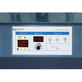 Premium test bench with step motor SAUTER TVS 5000N240
