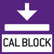 Calibration block: standard for adjusting or correcting the measuring device.