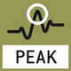 Peak hold function: capturing a peak value within a measuring process.